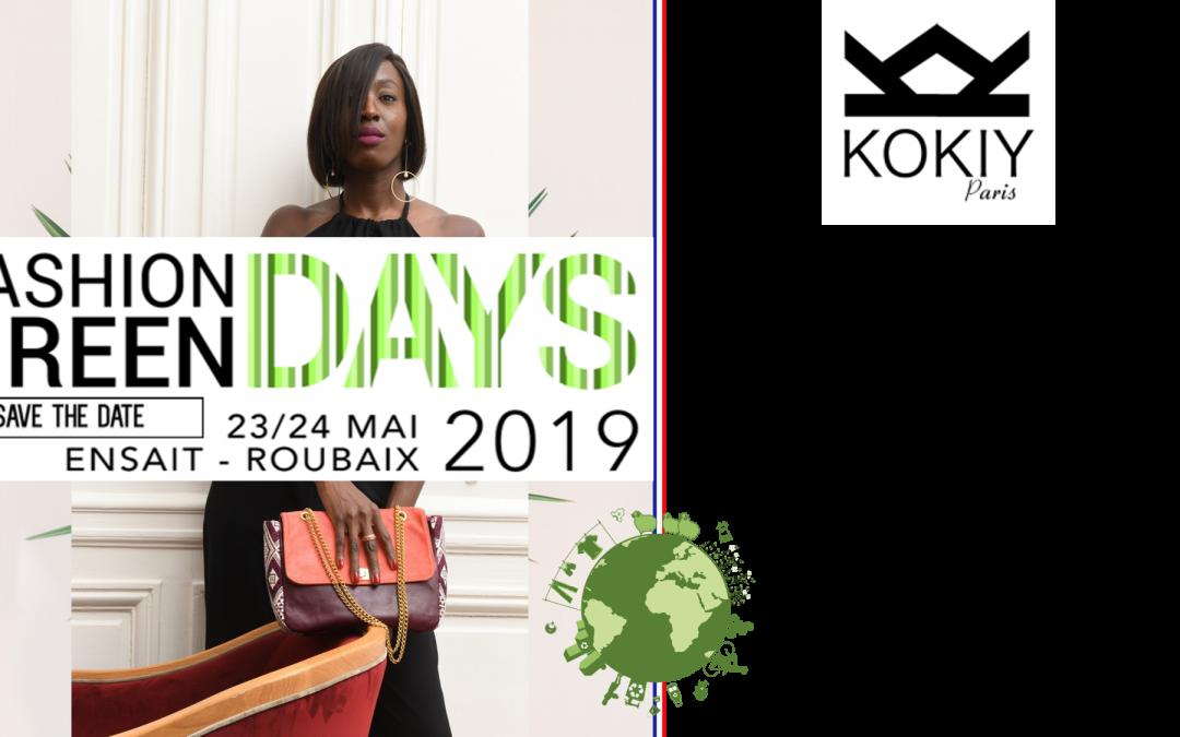 KOKIY PARIS EXPOSE LORS DES GREEN FASHION DAYS 2019